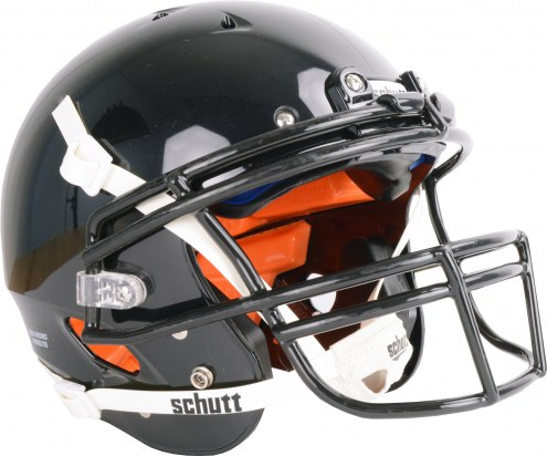 Schutt Recruit Hybrid VTD Youth Football Helmet with attached faceguard