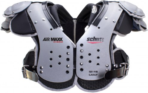 Schutt Air Maxx Hybrid Football Shoulder Pads - QB/WR
