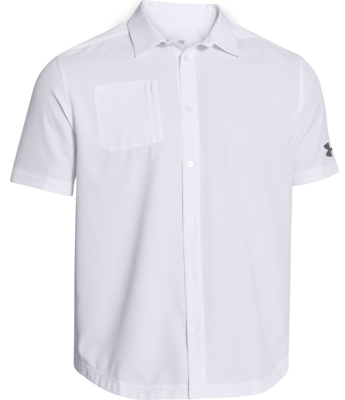 9c1766f9c6 Under Armour Ultimate Custom Corporate Men s Button Down Short Sleeve Shirt.  Size Chart Size Chart. Selected Color  Not Selected