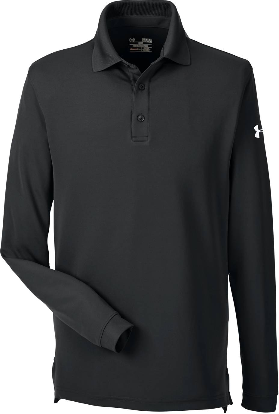 Under Armour Mens Custom Corporate Performance Long Sleeve Polo