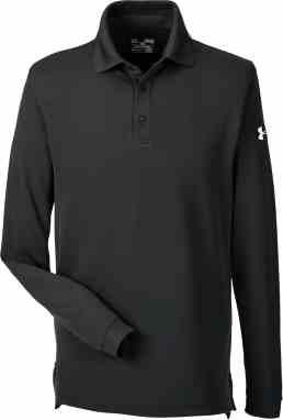 6ea1ff48 Under Armour Men's Custom Corporate Performance Long Sleeve Polo. $54.95 -  $58.95