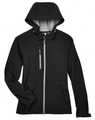 Ash City - North End Women's Prospect Fleece Bonded Custom Softshell Jacket