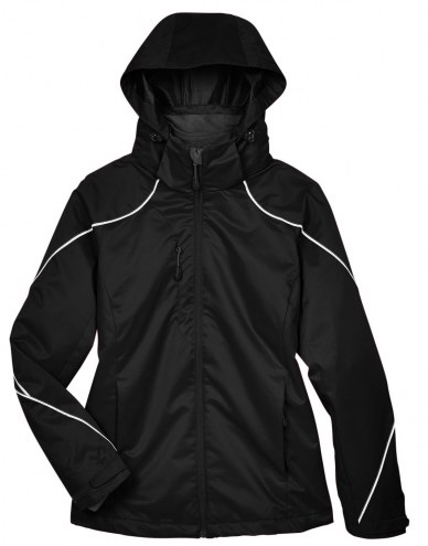 Ash City - North End Women's Angle 3-in-1 Custom Winter Jacket