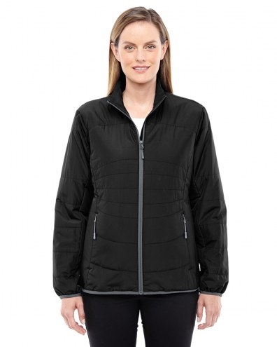 Ash City - North End Women's Resolve Interactive Insulated Packable Jacket