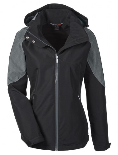 Ash City - North End Women's Impulse Interactive Seam-Sealed Custom Jacket