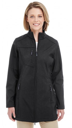 UltraClub Women's Printed Soft Shell Jacket
