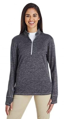 Adidas Golf 3 Stripes Heather Women's Custom Quarter Zip