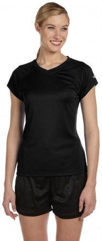 Champion Women's 4.1 oz. Double Dry Custom V-Neck T-Shirt