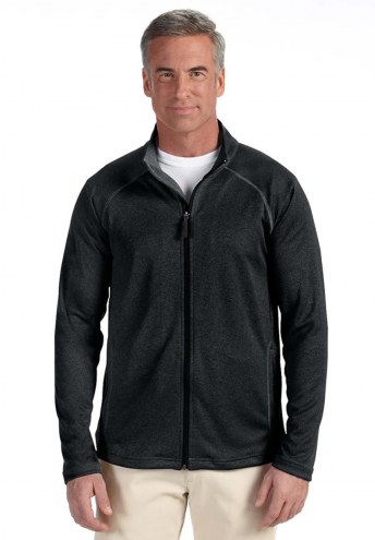 Devon & Jones Men's Stretch Tech-Shell Compass Full Zip Jacket