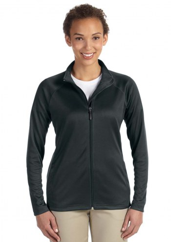 Devon & Jones Women's Stretch Tech-Shell Compass Full Zip Jacket