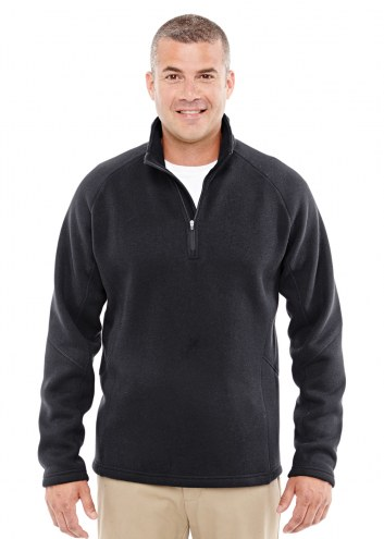 Devon & Jones Men's Bristol Sweater Fleece Half-Zip