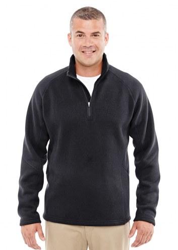 Devon & Jones Men's Bristol Sweater Fleece Half-Zip