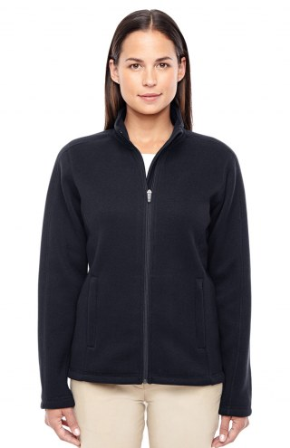 Devon & Jones Women's Bristol Full Zip Sweater Fleece Jacket