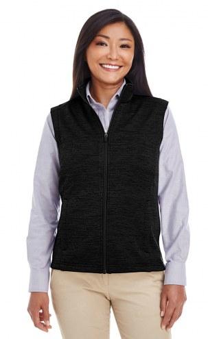 Devon & Jones Women's Newbury Melange Fleece Vest
