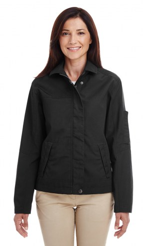 Harriton Women's Auxiliary Canvas Work Jacket