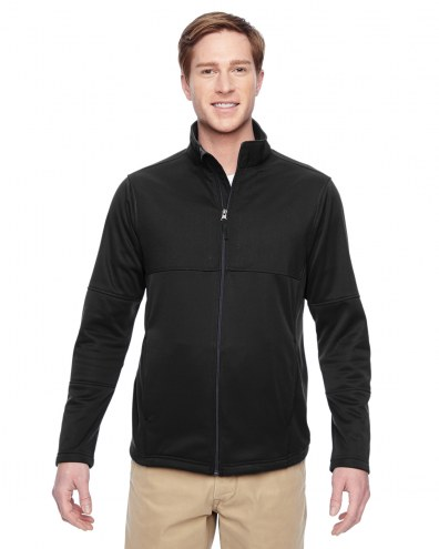 Harriton Men's Task Performance Full Zip Fleece Jacket