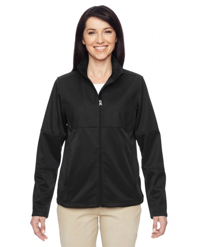 Harriton Women's Task Performance Full Zip Fleece Jacket
