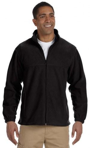 Harriton Men's Custom 8 oz. Full Zip Fleece