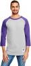 Oxford Gray/Purple