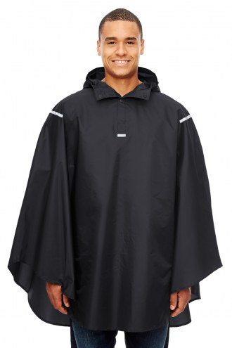 Team 365 Adult Stadium Packable Poncho