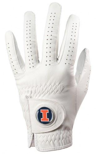 Illinois Fighting Illini Golf Glove