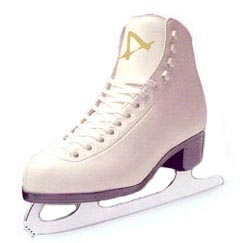 Tricot Lined Girls Figure Skates by American