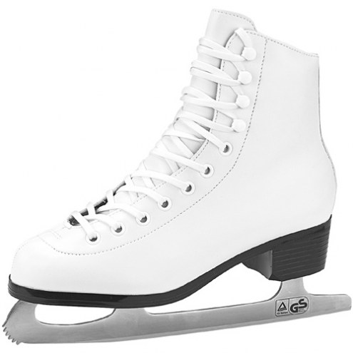 Leather Lined Girls Figure Skates by American