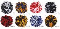 Adult 2 Color Mix Cheerleading Pom Poms