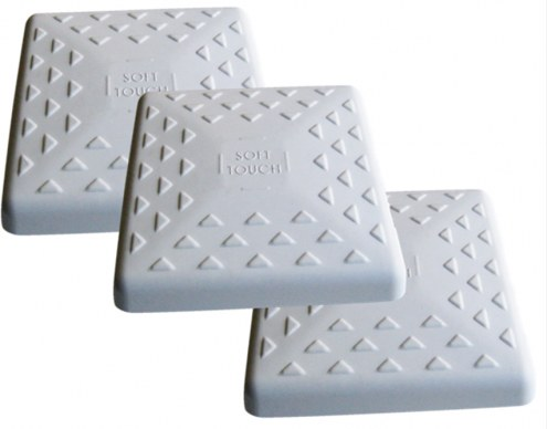 """Soft Touch Replacement 14"""" Youth Baseball Bases - Set of 3"""