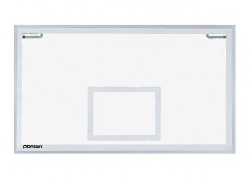 Porter Center-Strut Rectangular Glass Backboard