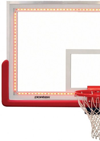 Porter LED Perimeter Lighting for Pro-Strut Glass Basketball Backboard