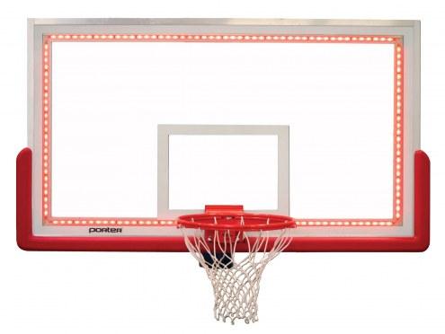 Porter LED Perimeter Lighting for Center-Strut Glass Basketball Backboard