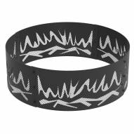 "Abstract 36"" Round Steel Fire Ring"