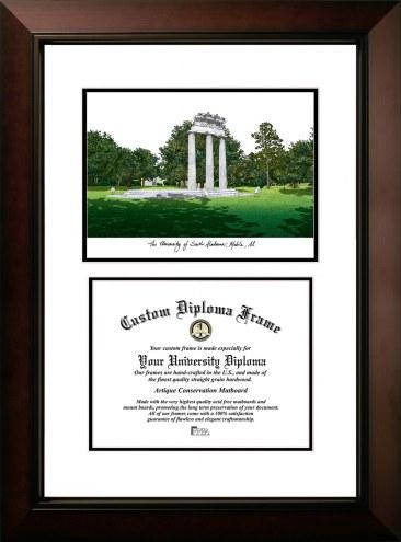 South Alabama Jaguars Legacy Scholar Diploma Frame