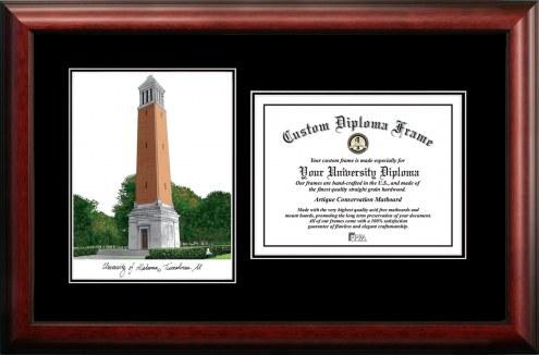 Alabama Crimson Tide Diplomate Diploma Frame