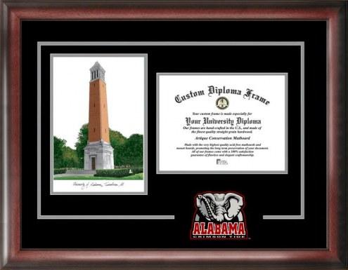 Alabama Crimson Tide Spirit Graduate Diploma Frame