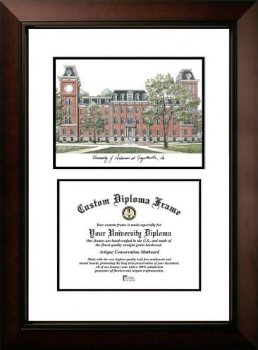 Arkansas Razorbacks Legacy Scholar Diploma Frame