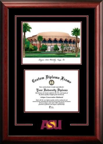 Arizona State Sun Devils Spirit Graduate Diploma Frame