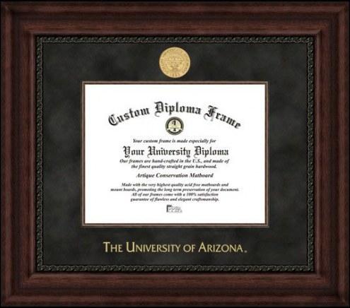Arizona Wildcats Executive Diploma Frame