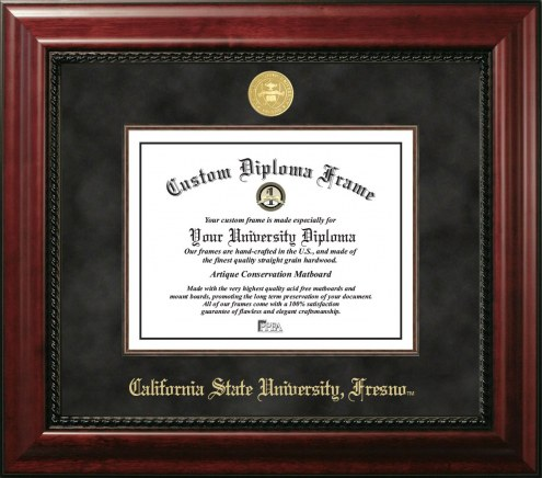 Fresno State Bulldogs Executive Diploma Frame
