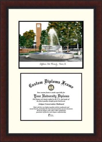 Fresno State Bulldogs Legacy Scholar Diploma Frame