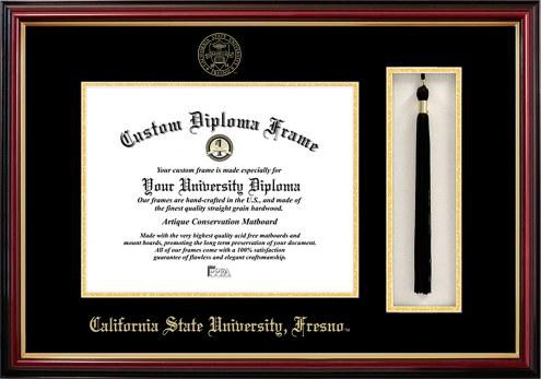 Fresno State Bulldogs Diploma Frame & Tassel Box
