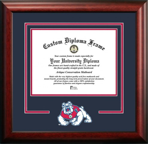 Fresno State Bulldogs Spirit Diploma Frame
