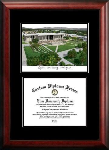 California State Northridge Matadors Diplomate Diploma Frame