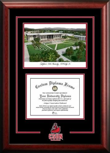 California State Northridge Matadors Spirit Graduate Diploma Frame