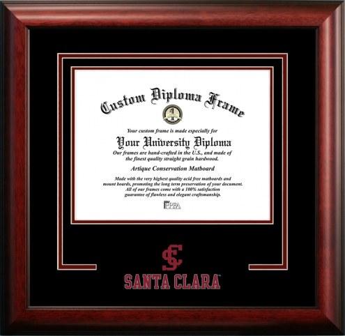 Santa Clara Broncos Spirit Diploma Frame