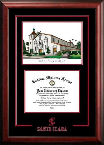 Santa Clara Broncos Spirit Graduate Diploma Frame