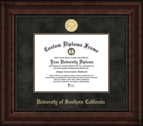 USC Trojans Executive Diploma Frame