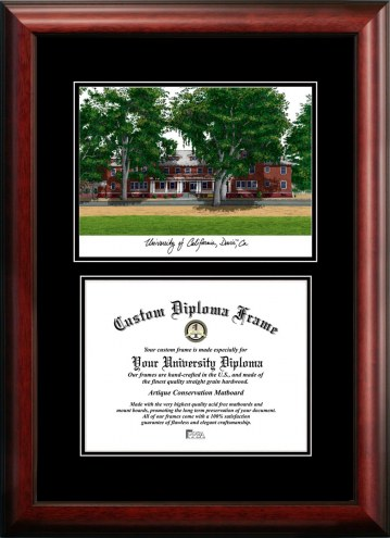 California Davis Aggies Diplomate Diploma Frame