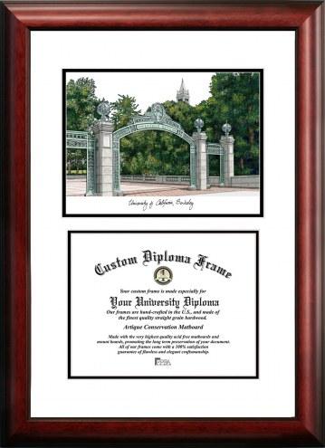 California Golden Bears Scholar Diploma Frame